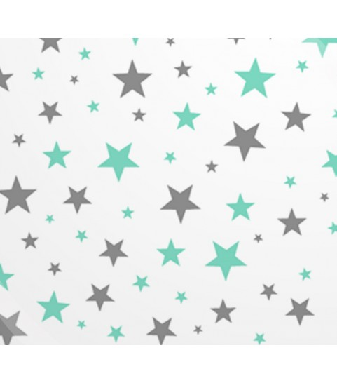 Gwiazdy szaro miętowe