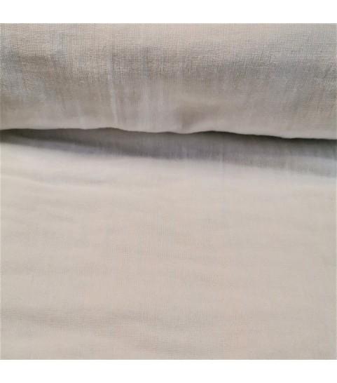 Muślin marszczony - biały 0,1mb