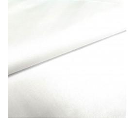Tkanina jednokolorowa biała