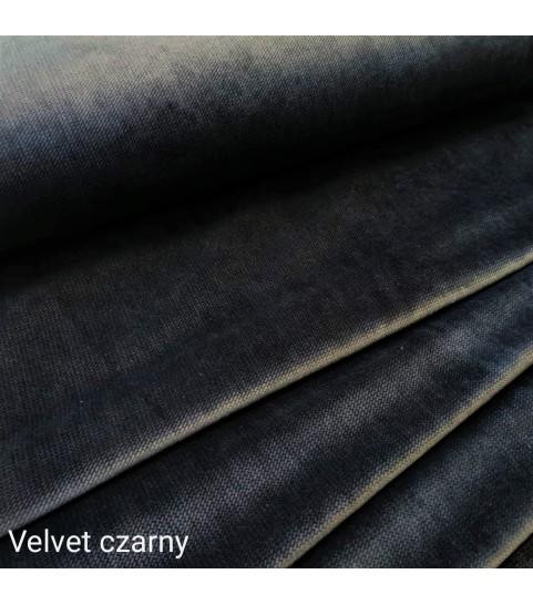 Velvet gładki 0,1 mb - czarny