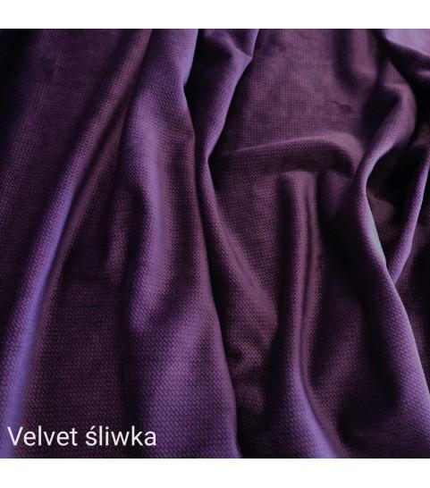 Velvet gładki 0,1 mb - śliwka