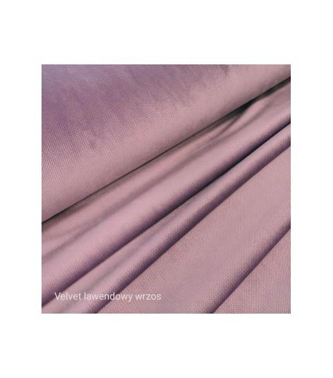Velvet gładki 0,1 mb - lawendowy wrzos