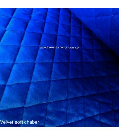 Velvet pikowany w romby 0,1 mb - soft chaber