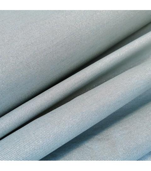 Tkanina poliestrowa - srebrno-miętowa szerokośc 175 cm 0,1mb