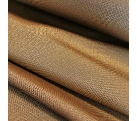Tkanina poliestrowa - stare złoto szerokość 175 cm 0,1mb