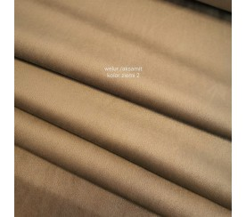 Tkanina poliestrowa welur/alsamit 0,1mb - kolor ziemi 2