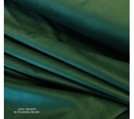 Tkanina poliestrowa welur/alsamit 0,1mb - butelkowa zieleń