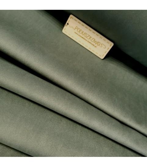 Tkanina poliestrowa welur/alsamit 0,1mb - szary 2