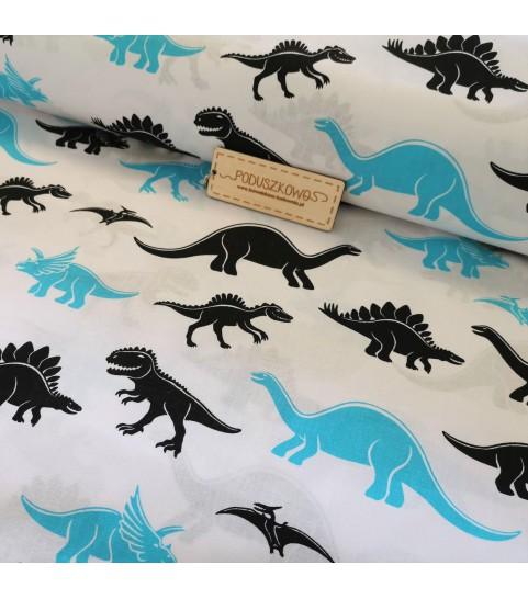 Dinozary niebiesko czarne 0,1 mb