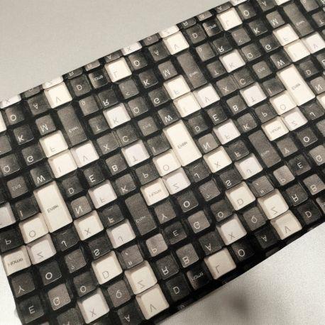 Dzianina pętelka drukowana 0,1 mb - klawiatura