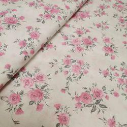 Różyczka drobna różowa na bieli 0,1 mb
