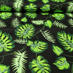 Monster zielony na czarnym tle 0,1mb