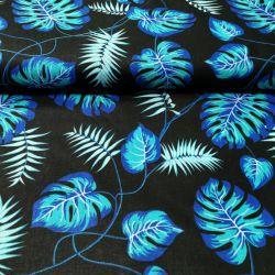 Monster niebieski na czarnym 0,1 mb