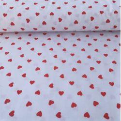 Serduszka czerwone na białym tle 0,1 mb