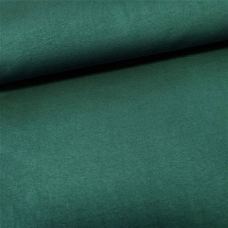 Dzianina pętelkowa gładka 0,1 mb - butelkowa zieleń