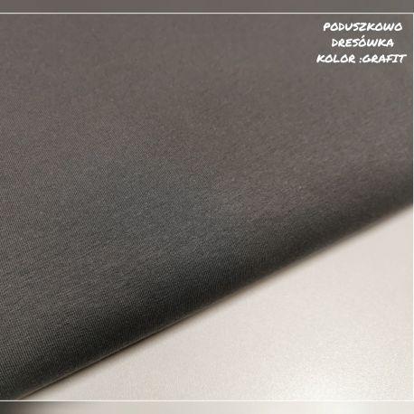 Dzianina pętelkowa gładka 0,1 mb - grafit