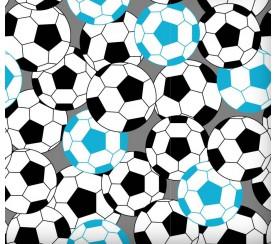 Piłka nożna niebieska