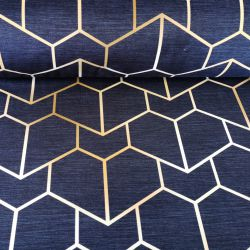 Tkanina poliestrowa welur dekoracyjny 0,1mb - wzór 39
