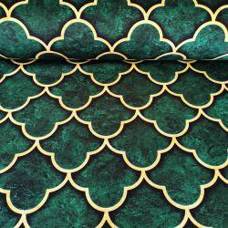 Tkanina poliestrowa welur dekoracyjny 0,1mb - wzór 40