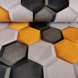 Tkanina poliestrowa welur dekoracyjny 0,1mb - wzór 41