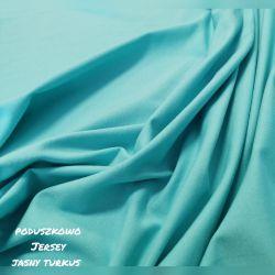 Jersey jednokolorwy 0,1 mb - jasny turkus