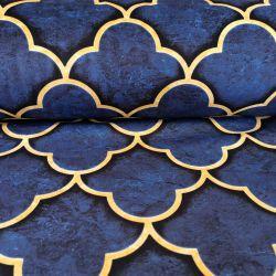 Tkanina poliestrowa welur dekoracyjny 0,1mb - wzór 42