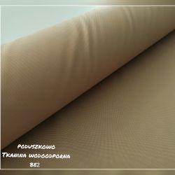 Tkanina poliestrowa wodoodporna 0,1 mb - beż