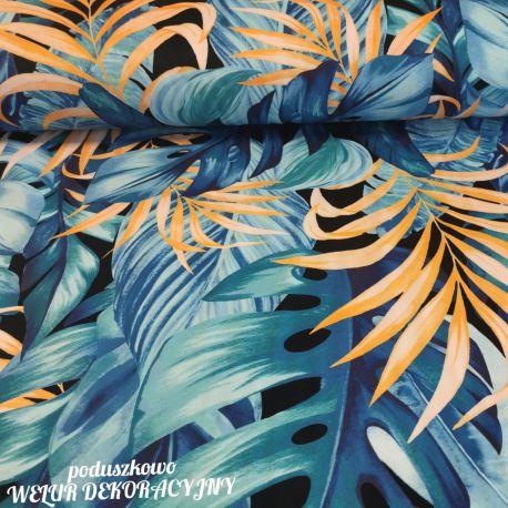 Tkanina poliestrowa welur dekoracyjny 0,1mb - wzór 48