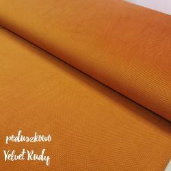 Velvet gładki 0,1 mb - rudy