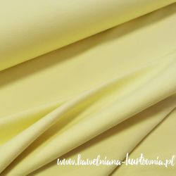 Dzianina pętelkowa gładka 0,1 mb - cytrynka