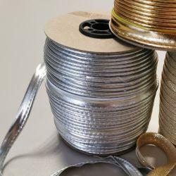 Wypustka z lamy złota/srebrna - 1 mb