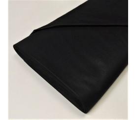 Tkanina jednokolorowa czarna